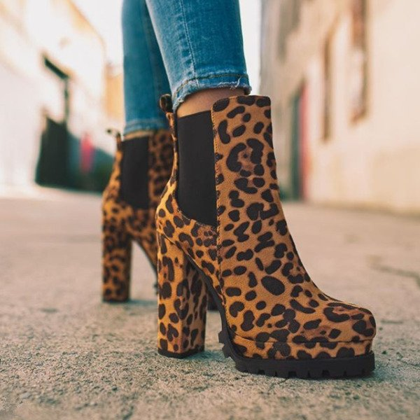 Best Chunky Heel Boots In 2021