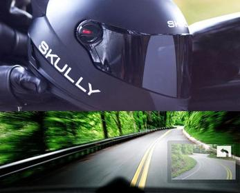 Motorcycle Helmet With Rear View Camera In 2021